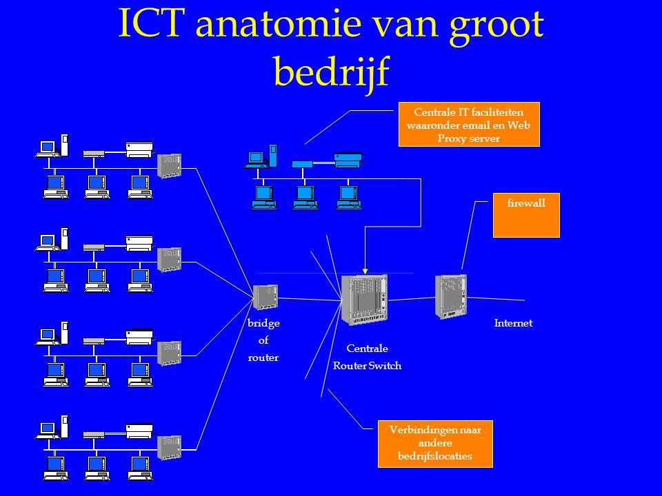 ICT anatomie van groot bedrijf