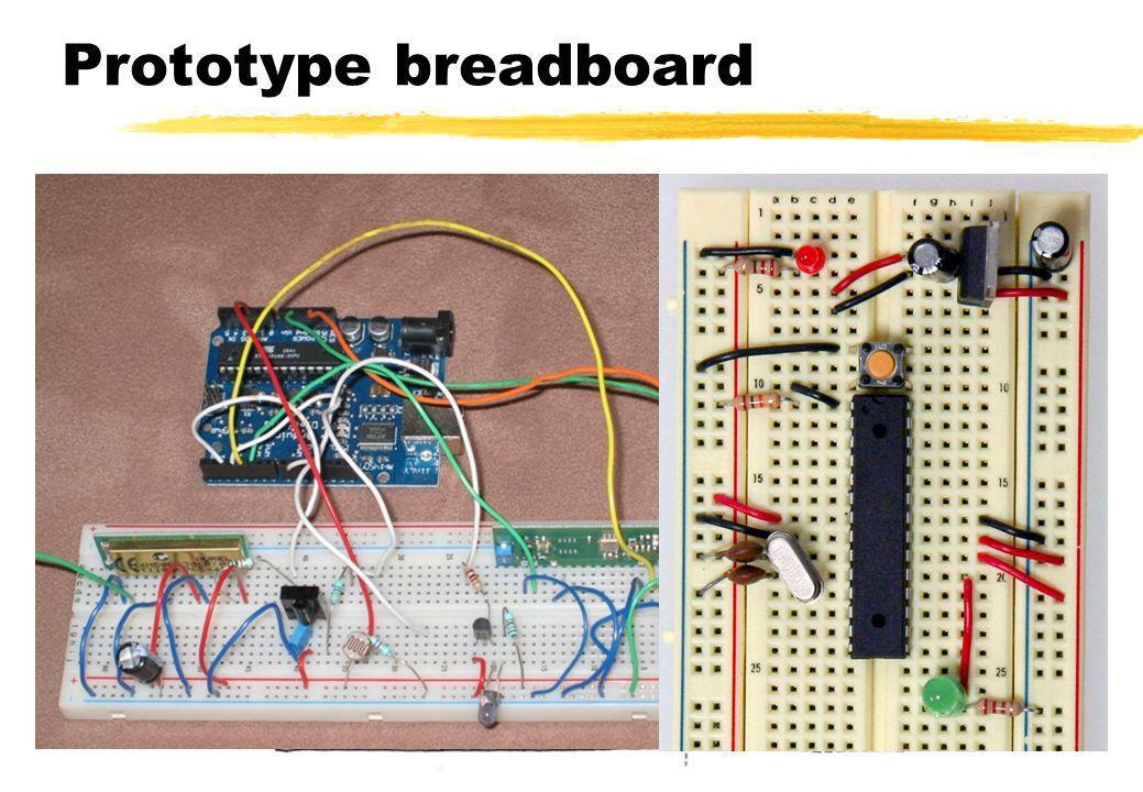 Ouderdag 2009 - Domotica Prototype breadboard Lennart Herlaar - UU