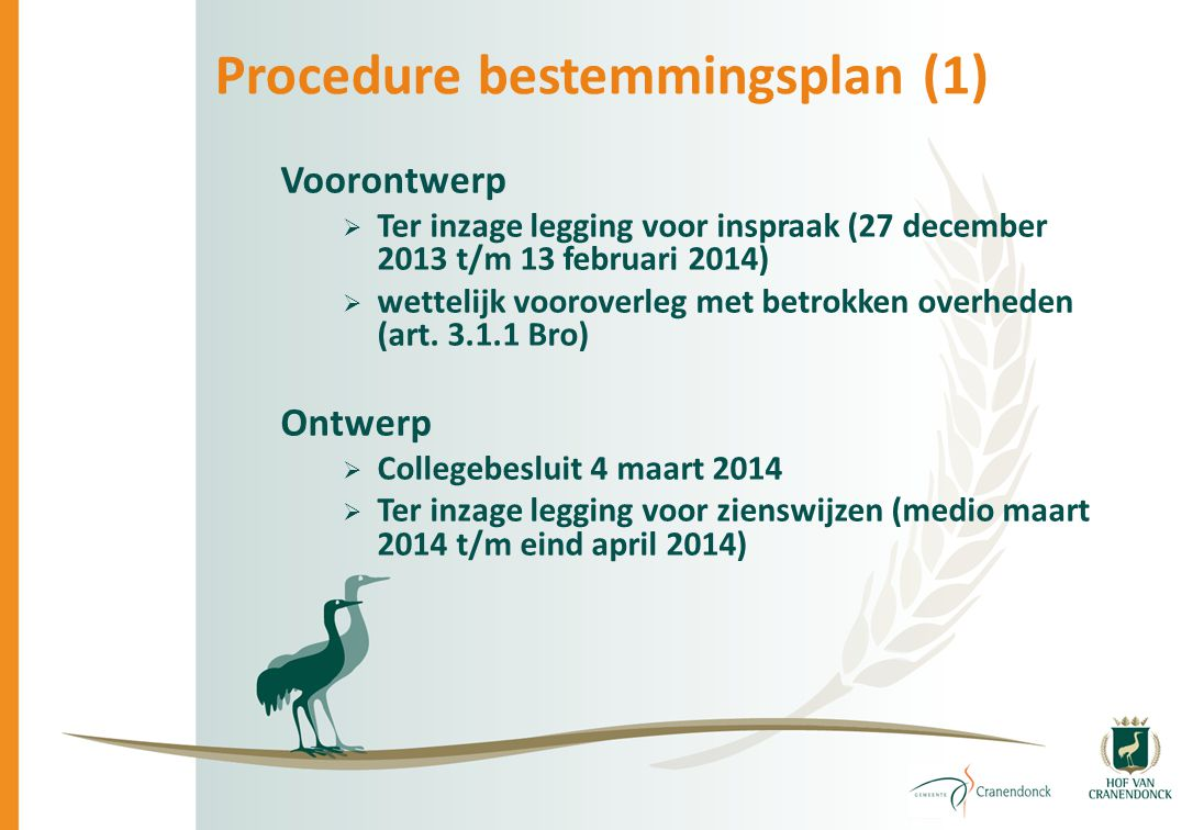 Procedure bestemmingsplan (1)