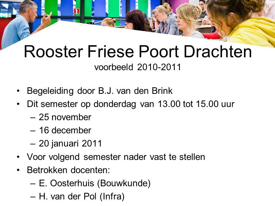 Rooster Friese Poort Drachten voorbeeld 2010-2011