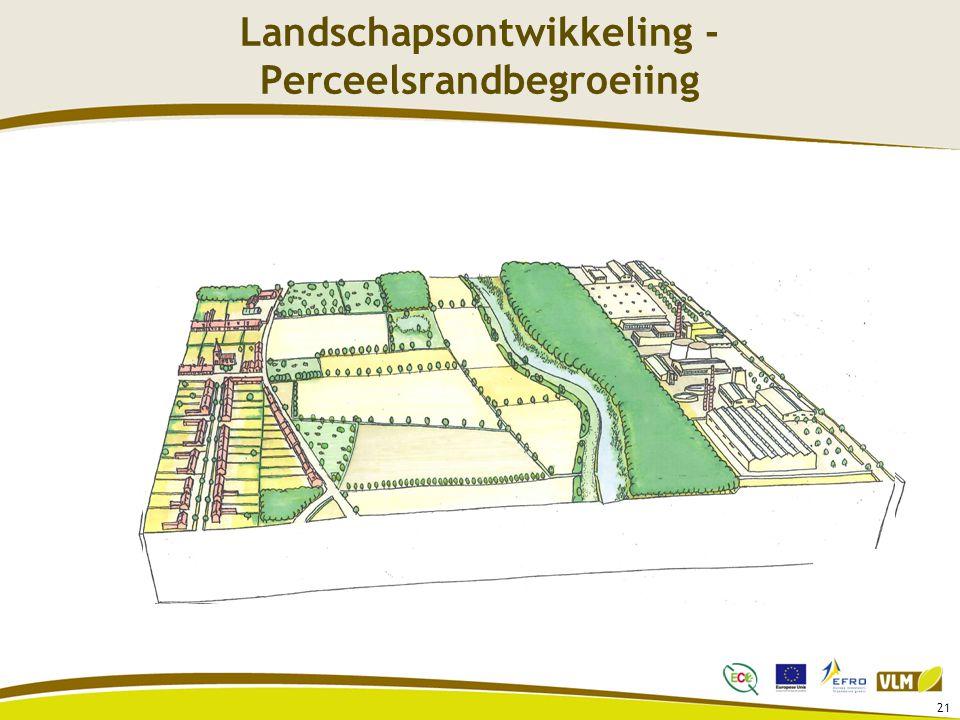 Landschapsontwikkeling - Perceelsrandbegroeiing