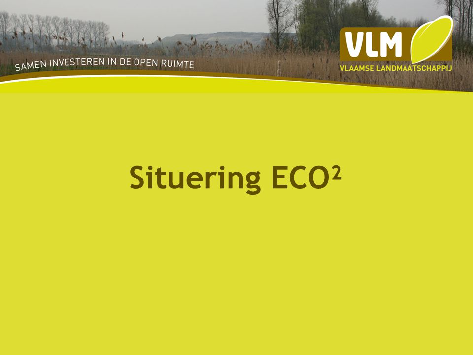 Situering ECO²