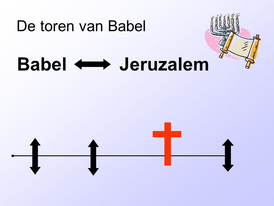 De toren van Babel Babel Jeruzalem