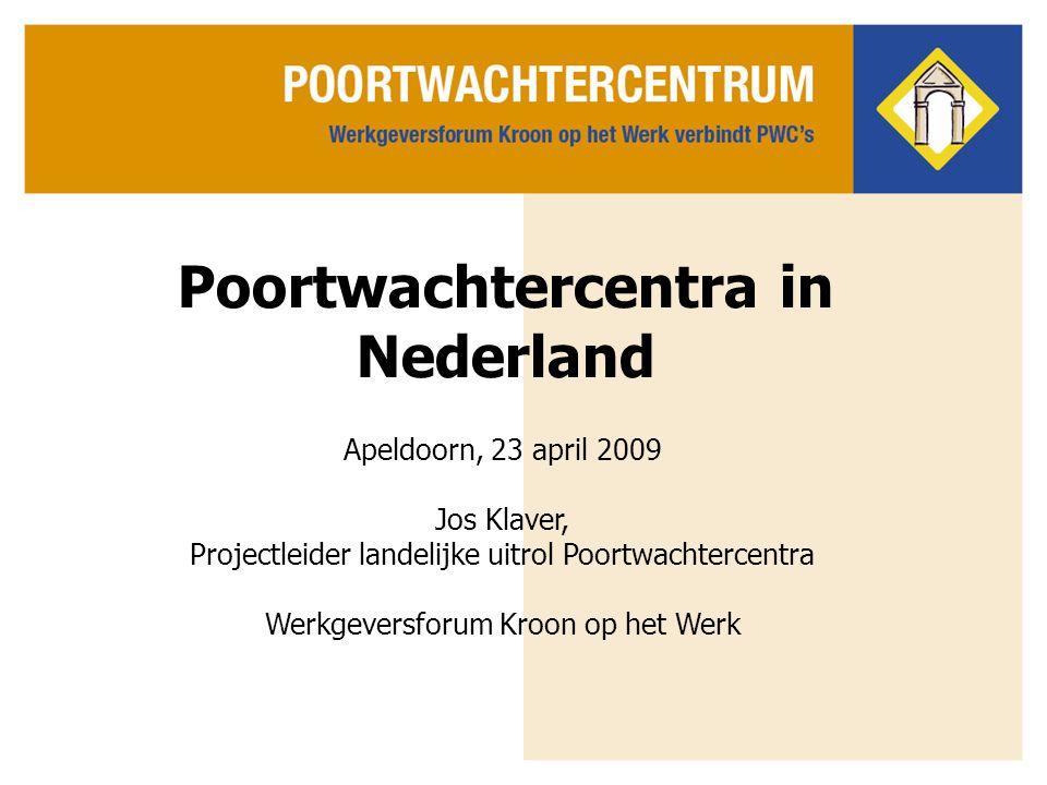 Poortwachtercentra in Nederland