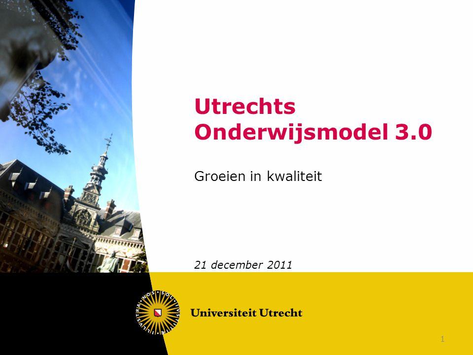 Utrechts Onderwijsmodel 3.0