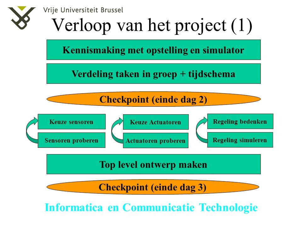 Verloop van het project (1)