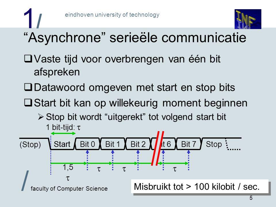 Asynchrone serieële communicatie