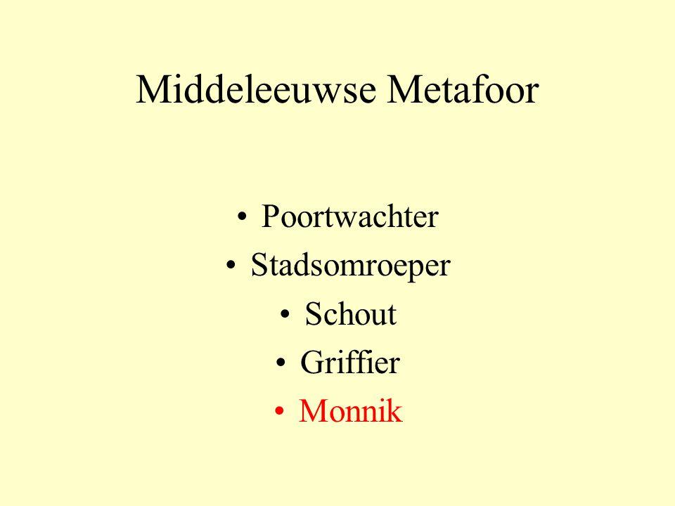 Middeleeuwse Metafoor