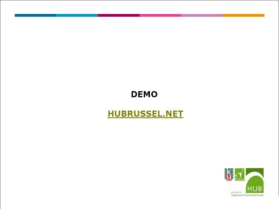 DEMO HUBRUSSEL.NET