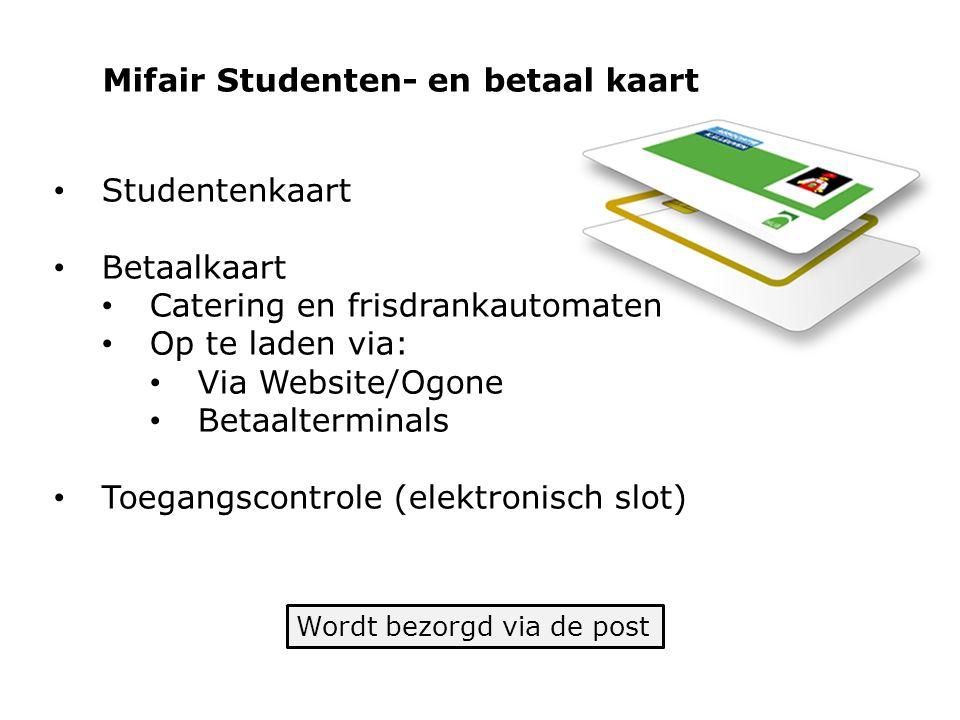 Mifair Studenten- en betaal kaart