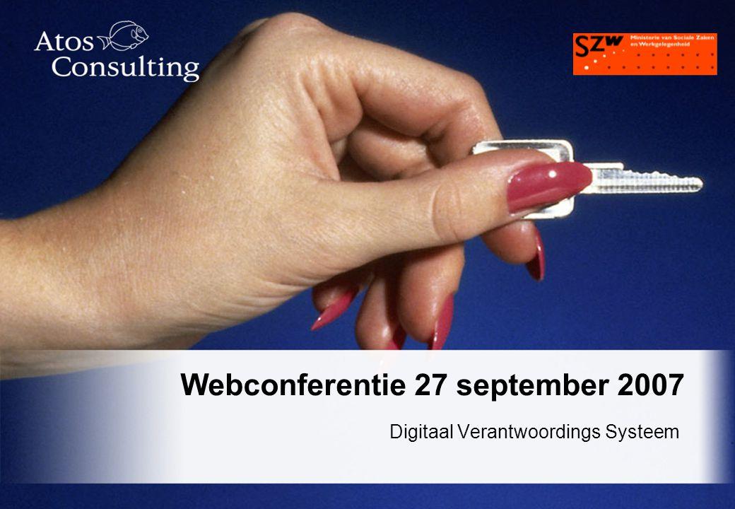 Webconferentie 27 september 2007