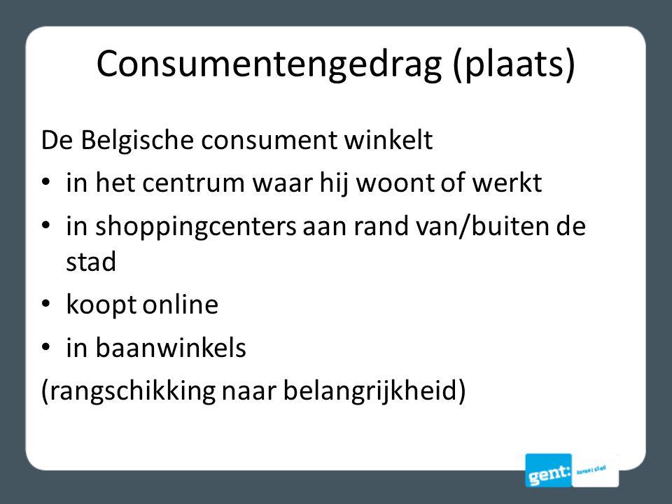 Consumentengedrag (plaats)