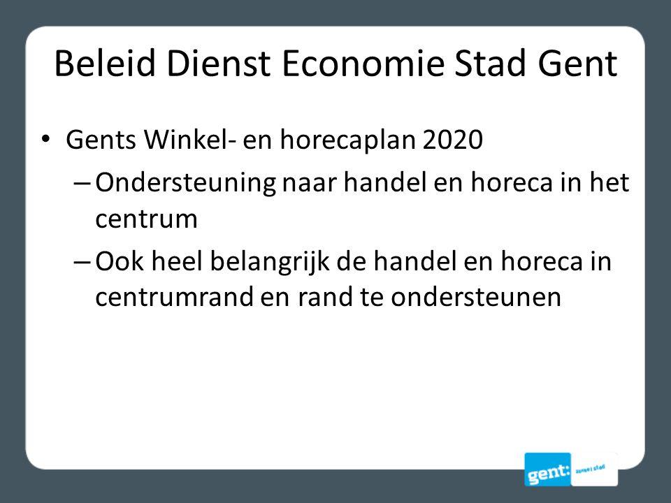 Beleid Dienst Economie Stad Gent