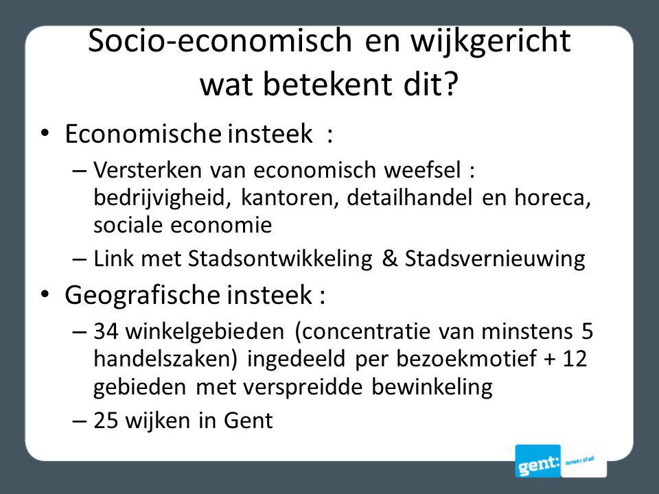 Socio-economisch en wijkgericht wat betekent dit