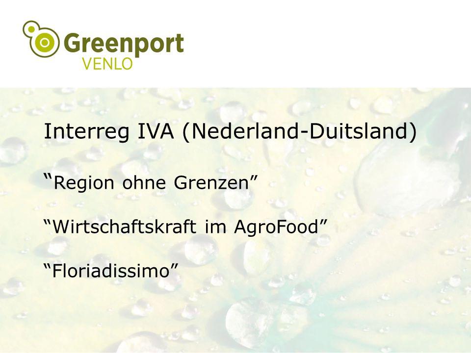 Interreg IVA (Nederland-Duitsland) Region ohne Grenzen
