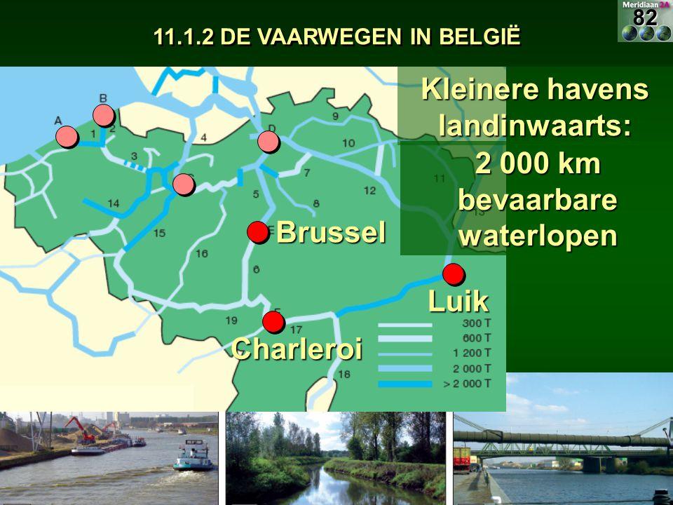 Kleinere havens landinwaarts: 2 000 km bevaarbare waterlopen