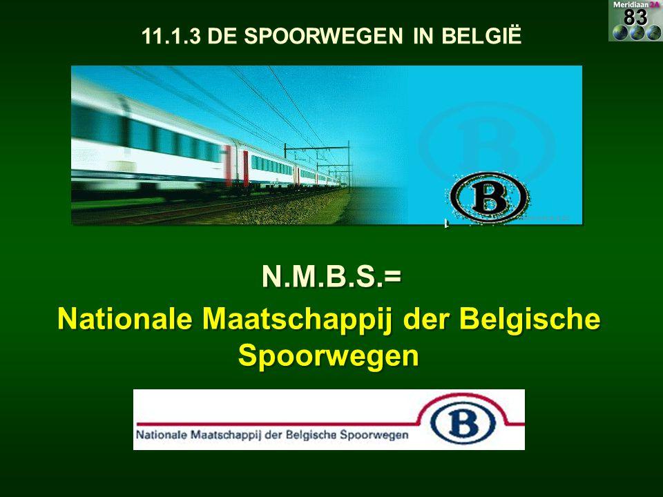 N.M.B.S.= Nationale Maatschappij der Belgische Spoorwegen