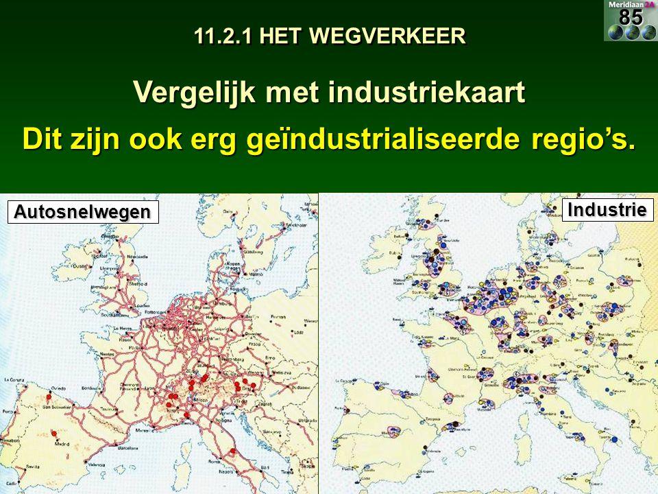 Vergelijk met industriekaart