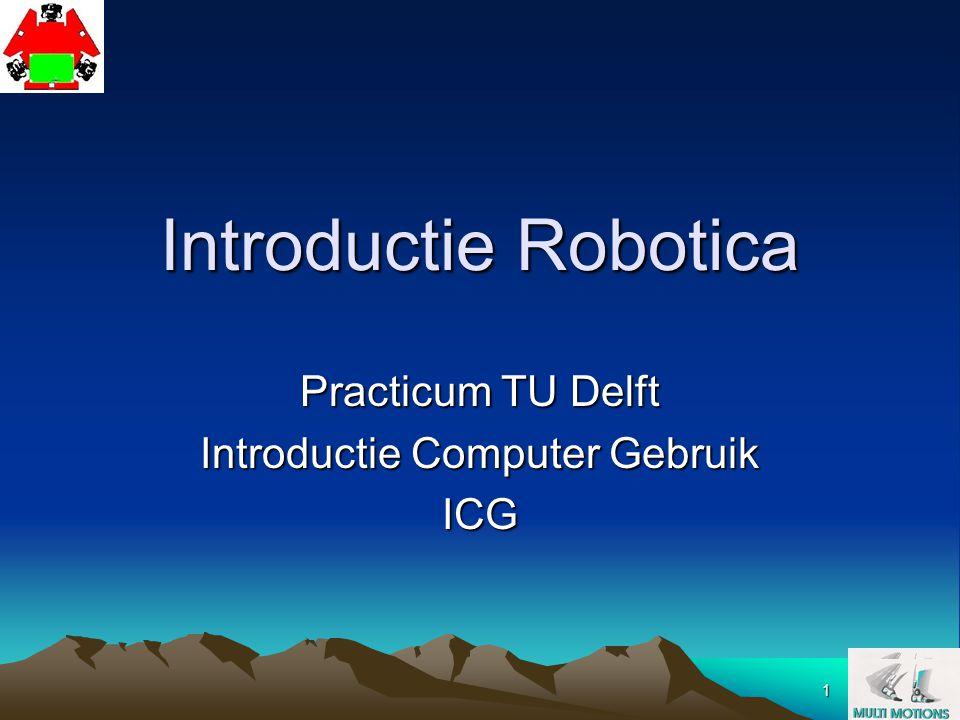 Practicum TU Delft Introductie Computer Gebruik ICG