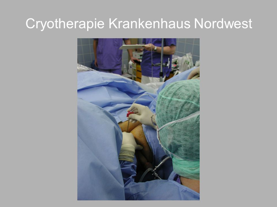 Cryotherapie Krankenhaus Nordwest