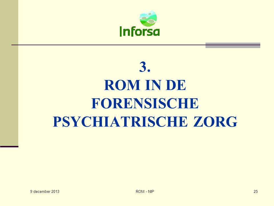 3. Rom in de Forensische psychiatrische zorg