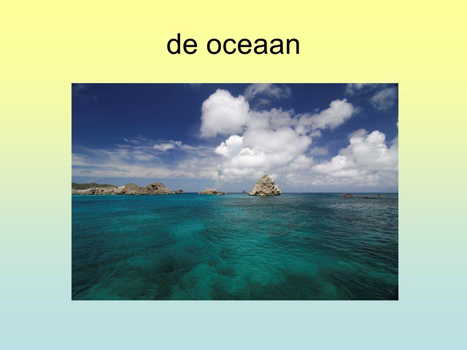 de oceaan