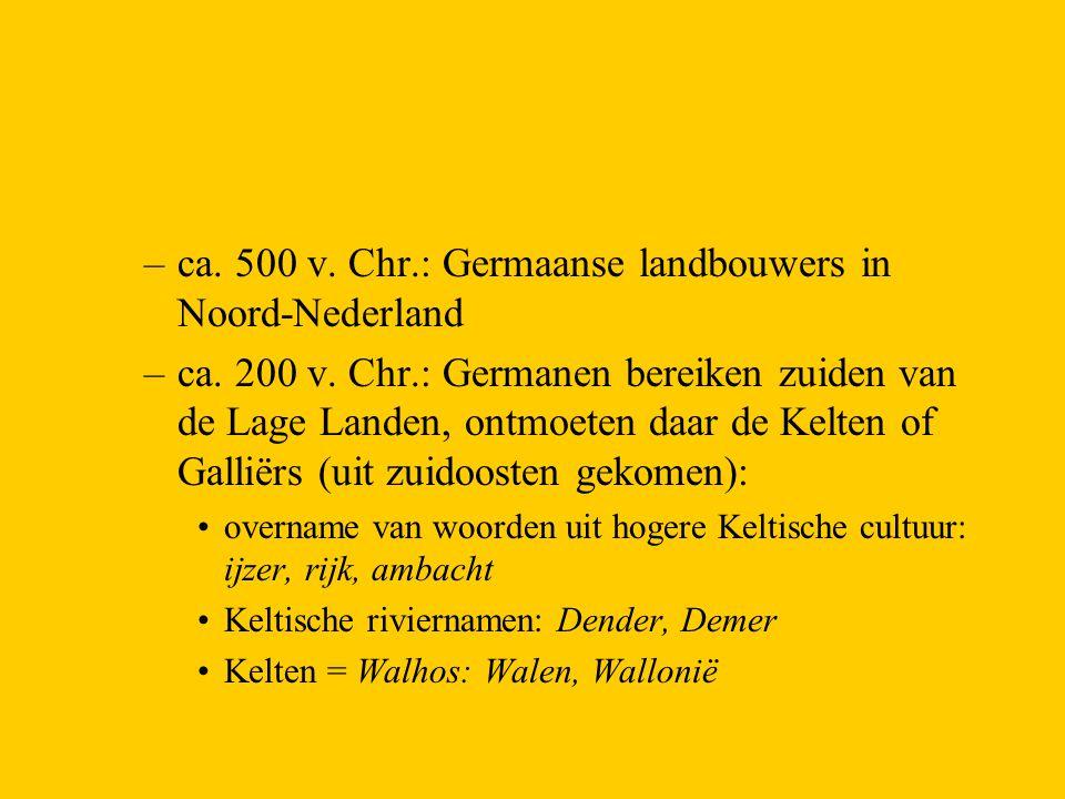 ca. 500 v. Chr.: Germaanse landbouwers in Noord-Nederland