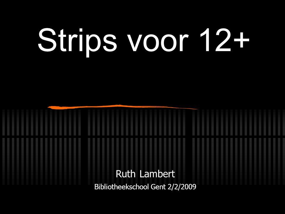Ruth Lambert Bibliotheekschool Gent 2/2/2009