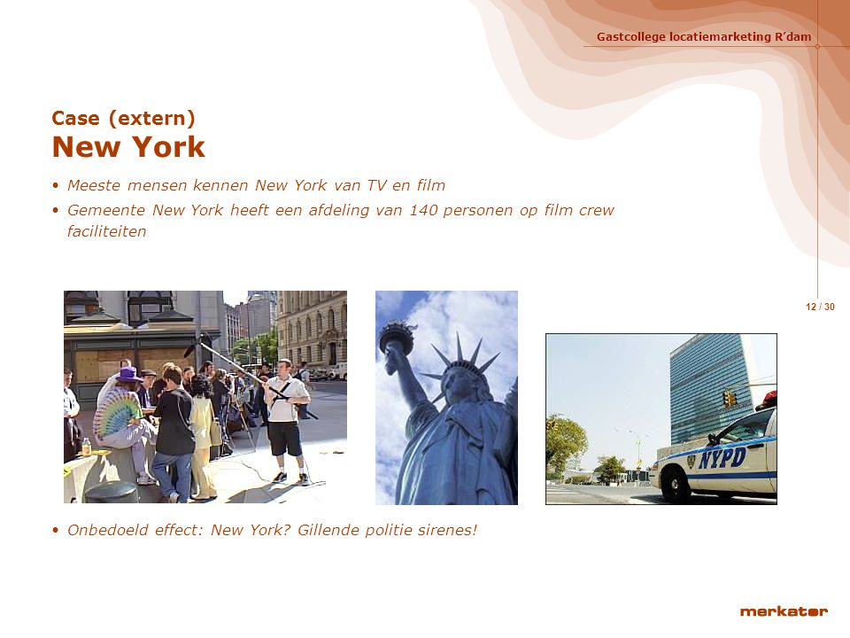 Case (extern) New York Meeste mensen kennen New York van TV en film