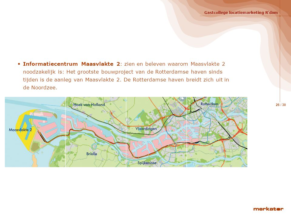 Informatiecentrum Maasvlakte 2: zien en beleven waarom Maasvlakte 2 noodzakelijk is: Het grootste bouwproject van de Rotterdamse haven sinds tijden is de aanleg van Maasvlakte 2.