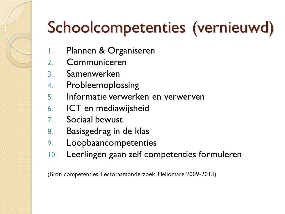 Schoolcompetenties (vernieuwd)
