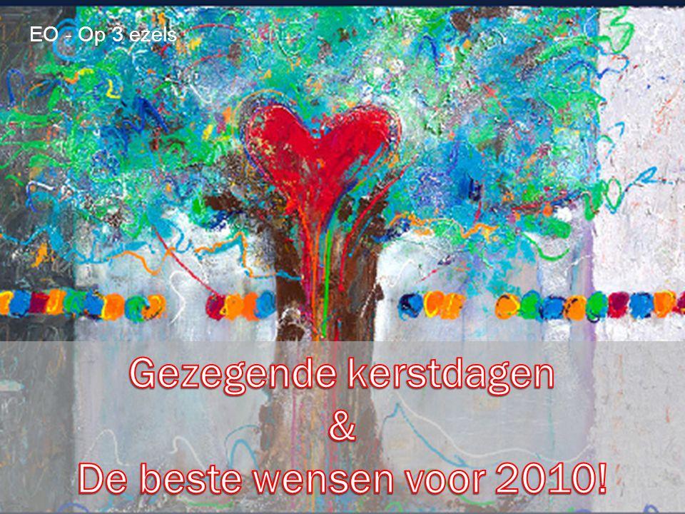 Gezegende kerstdagen & De beste wensen voor 2010!