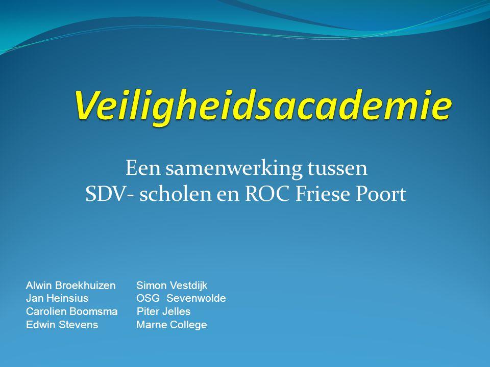 Een samenwerking tussen SDV- scholen en ROC Friese Poort