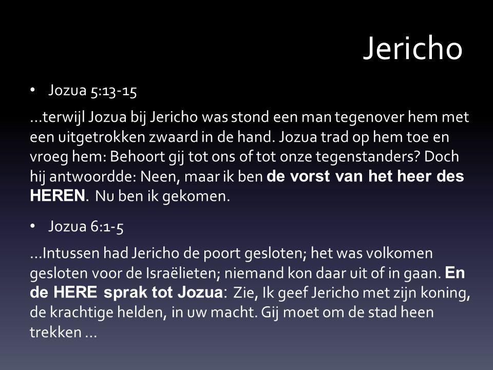 Jericho Jozua 5:13-15.