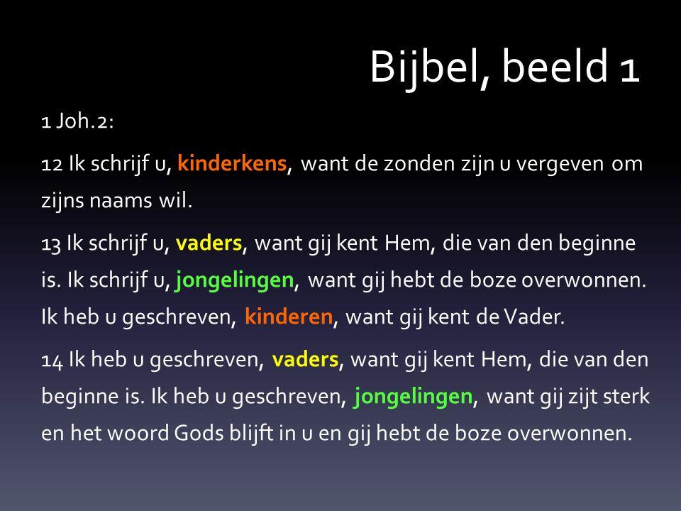 Bijbel, beeld 1