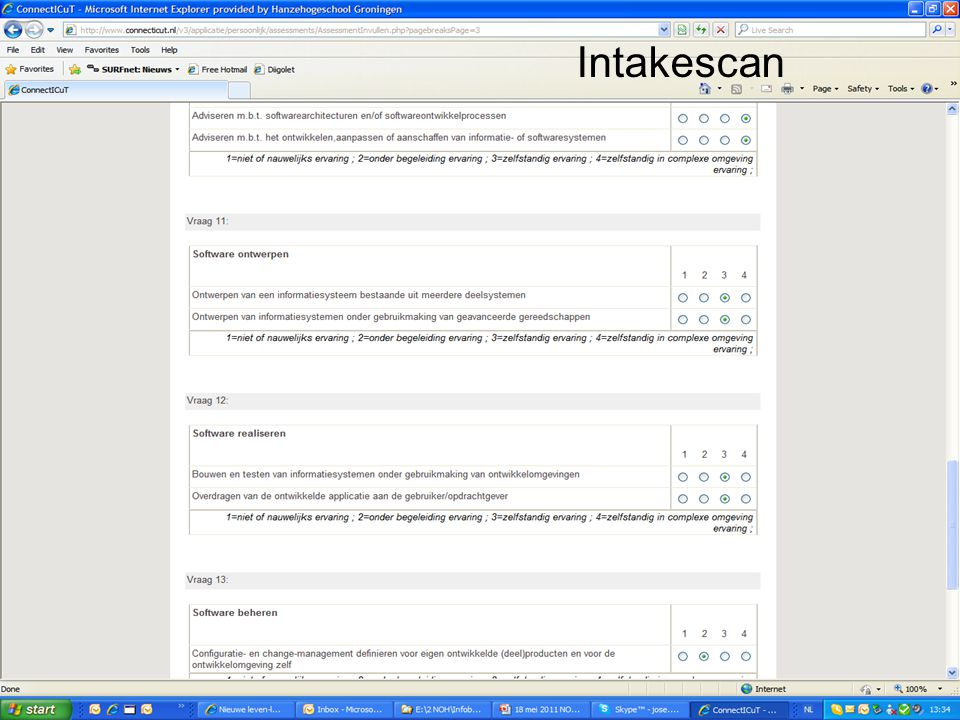Intakescan