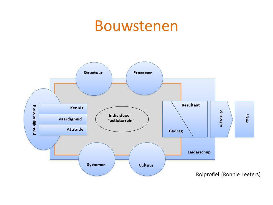 Bouwstenen Rolprofiel (Ronnie Leeters) Structuur Processen Leiderschap
