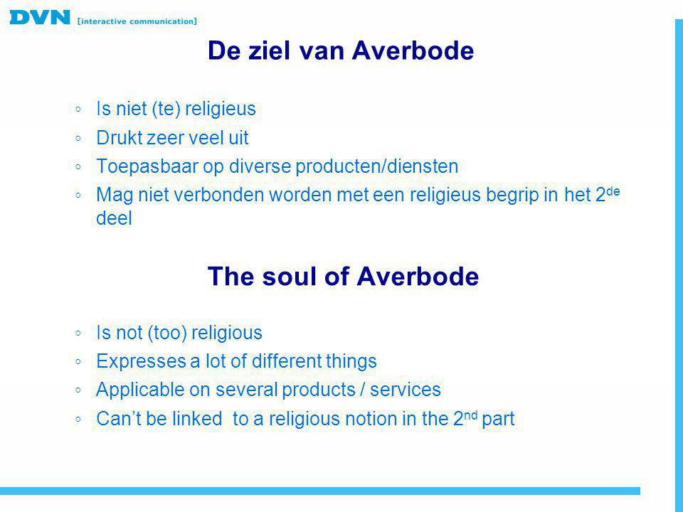 De ziel van Averbode The soul of Averbode