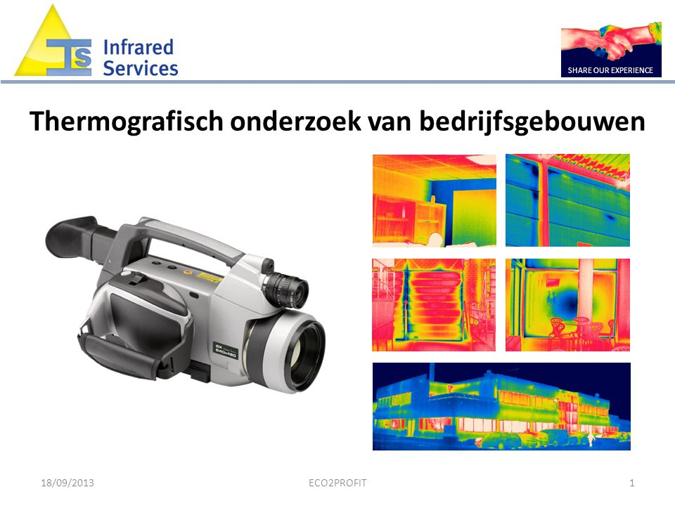 Thermografisch onderzoek van bedrijfsgebouwen