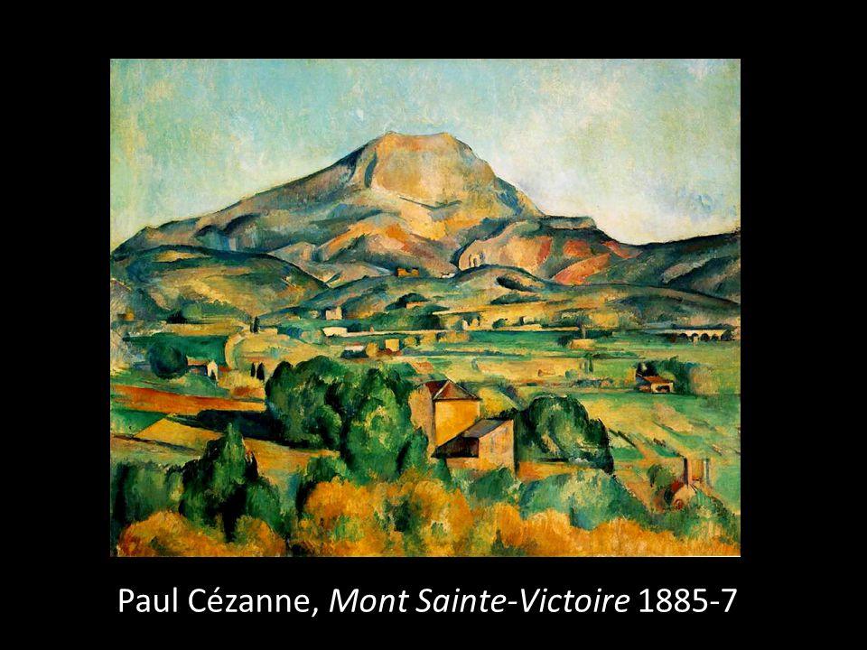 Paul Cézanne, Mont Sainte-Victoire 1885-7
