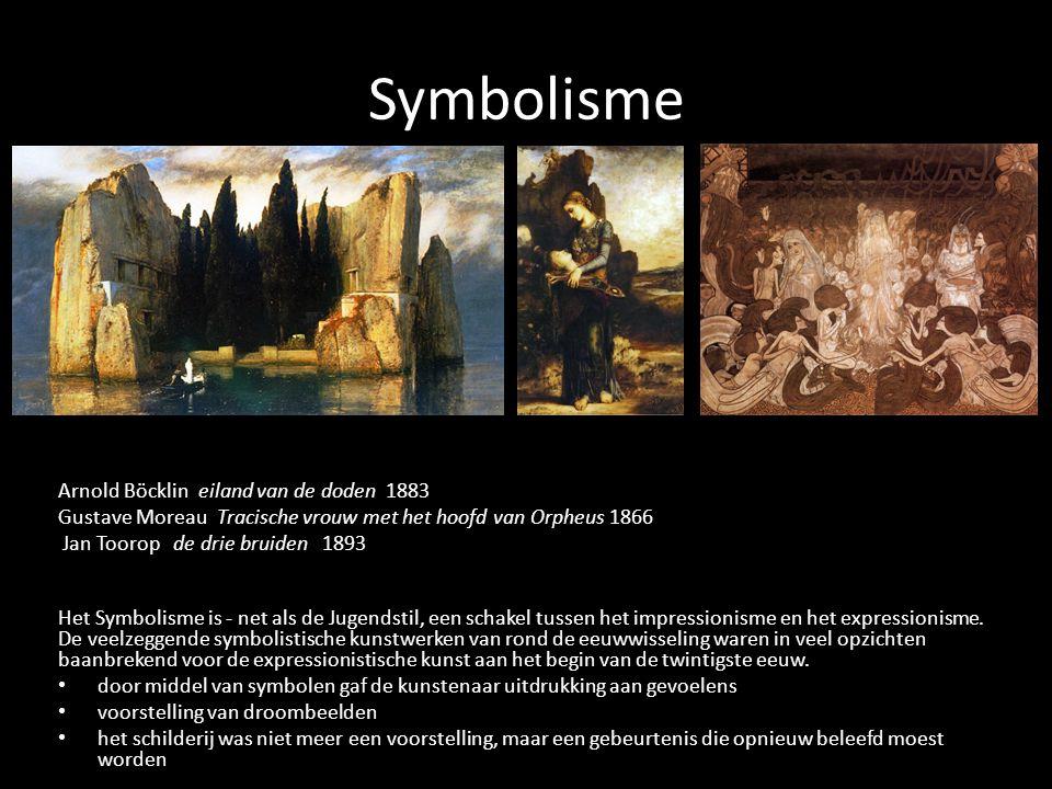 Symbolisme Arnold Böcklin eiland van de doden 1883