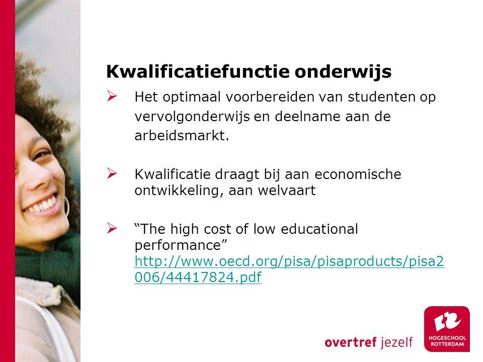 Kwalificatiefunctie onderwijs