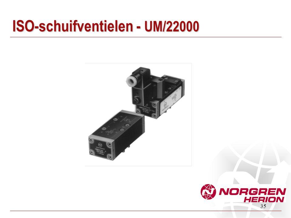 ISO-schuifventielen - UM/22000