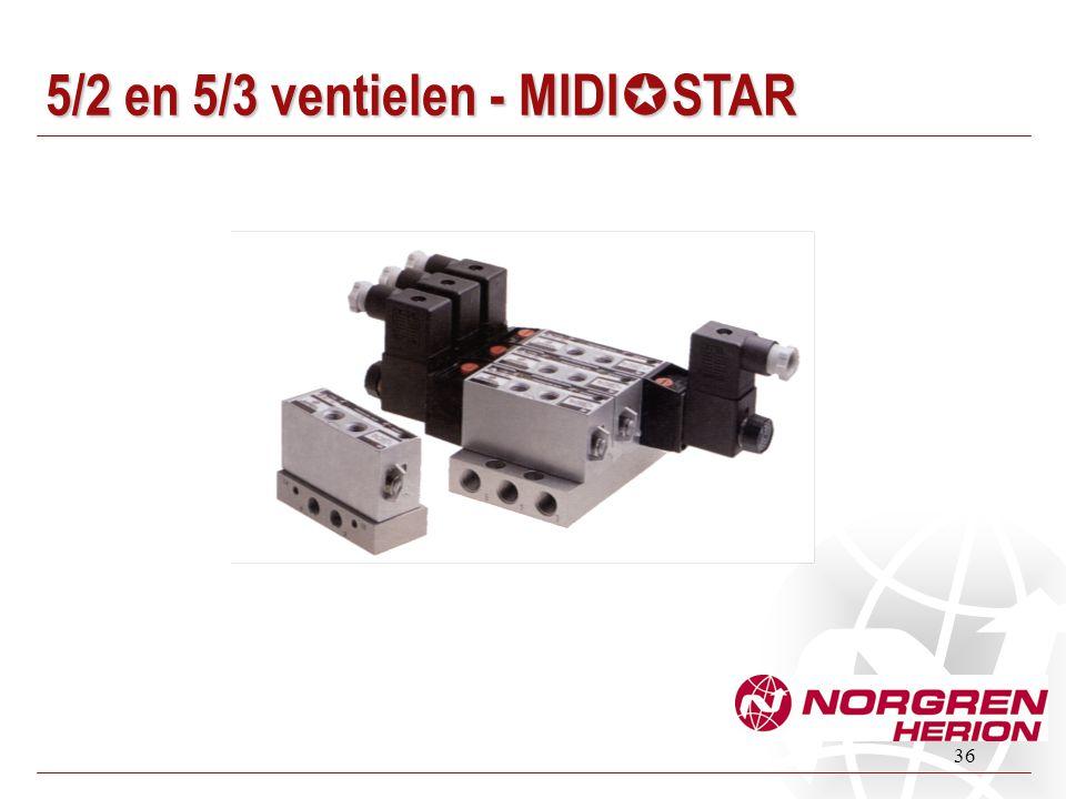 5/2 en 5/3 ventielen - MIDIµSTAR