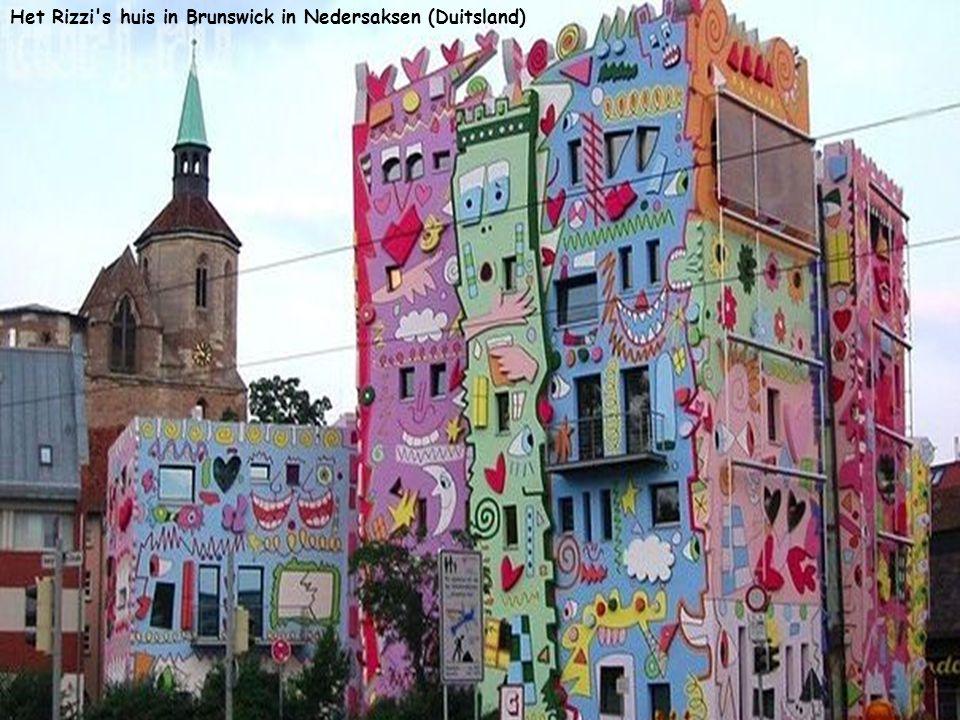 Het Rizzi s huis in Brunswick in Nedersaksen (Duitsland)