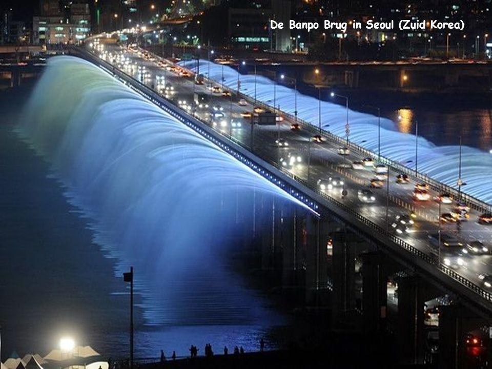 De Banpo Brug in Seoul (Zuid Korea)
