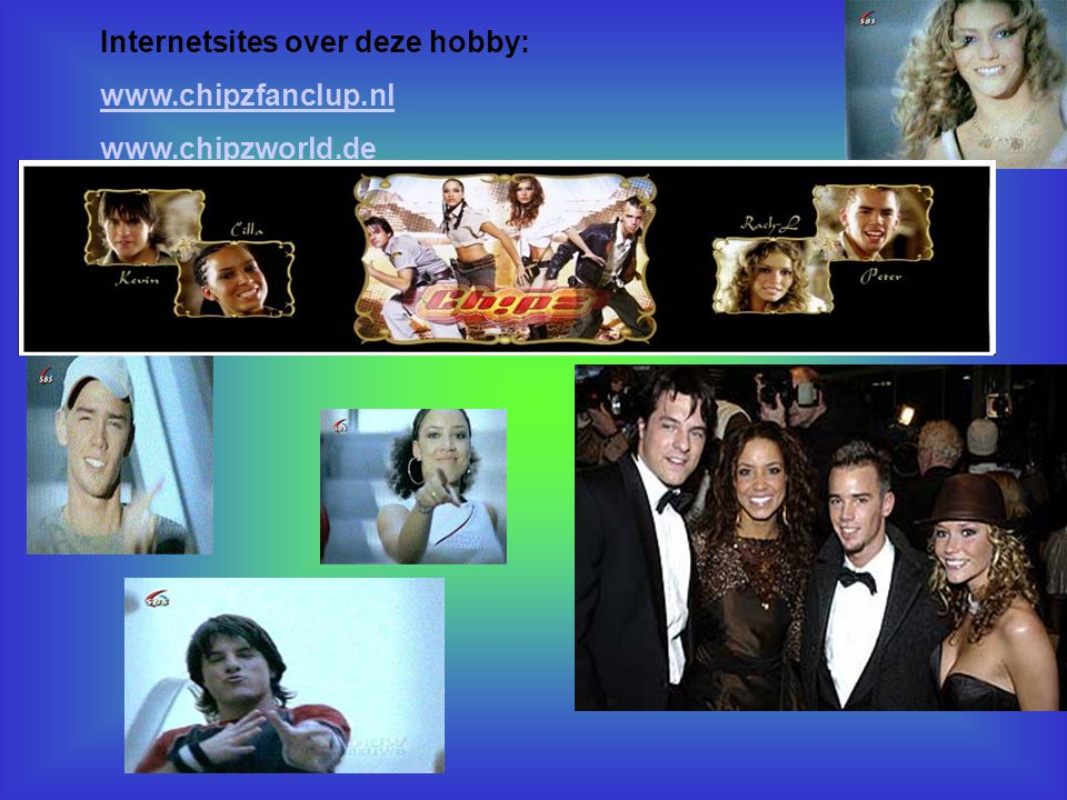 Internetsites over deze hobby: www.chipzfanclup.nl www.chipzworld.de *