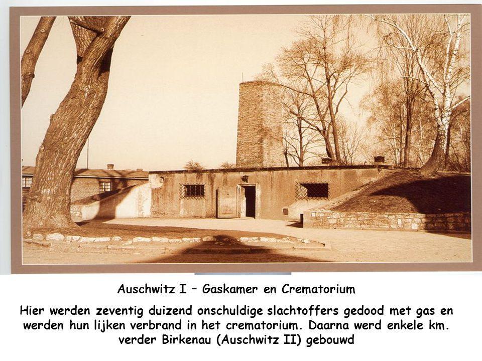 Auschwitz I – Gaskamer en Crematorium