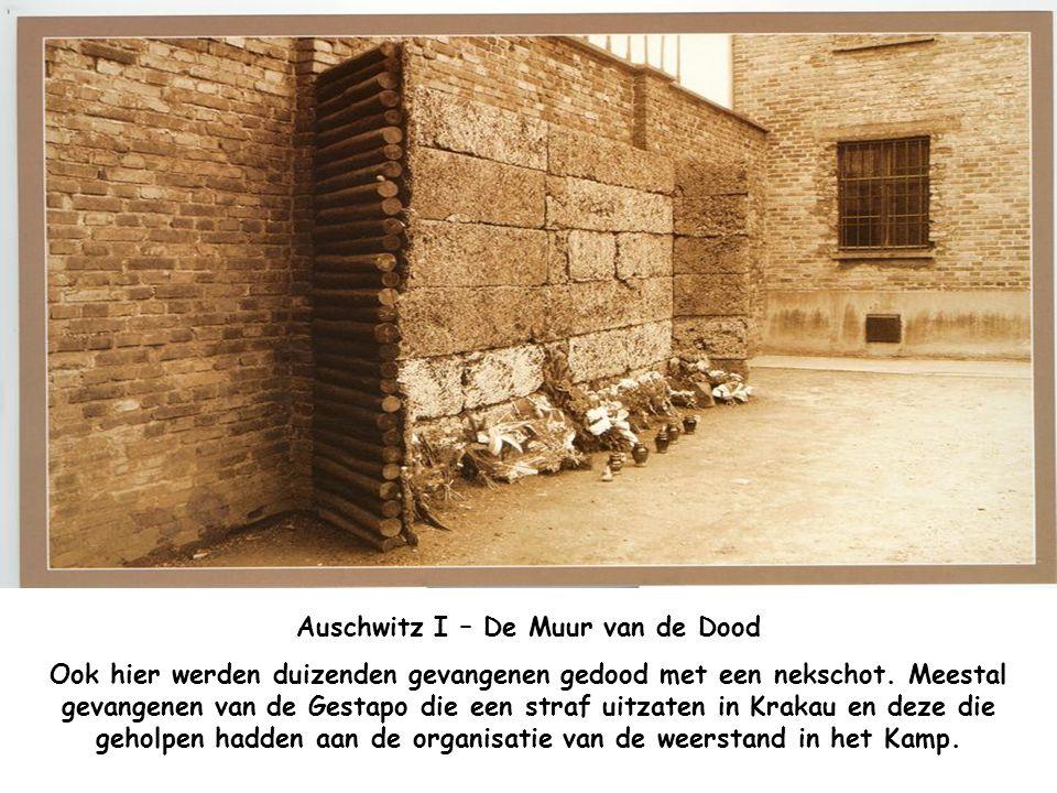 Auschwitz I – De Muur van de Dood