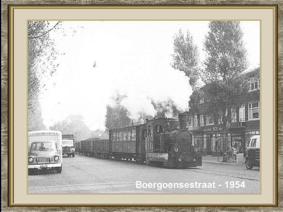 Boergoensestraat - 1954